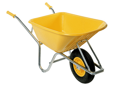 Wheelbarrow Geared for Contractors and Landscapers