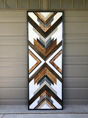mosaic wood art
